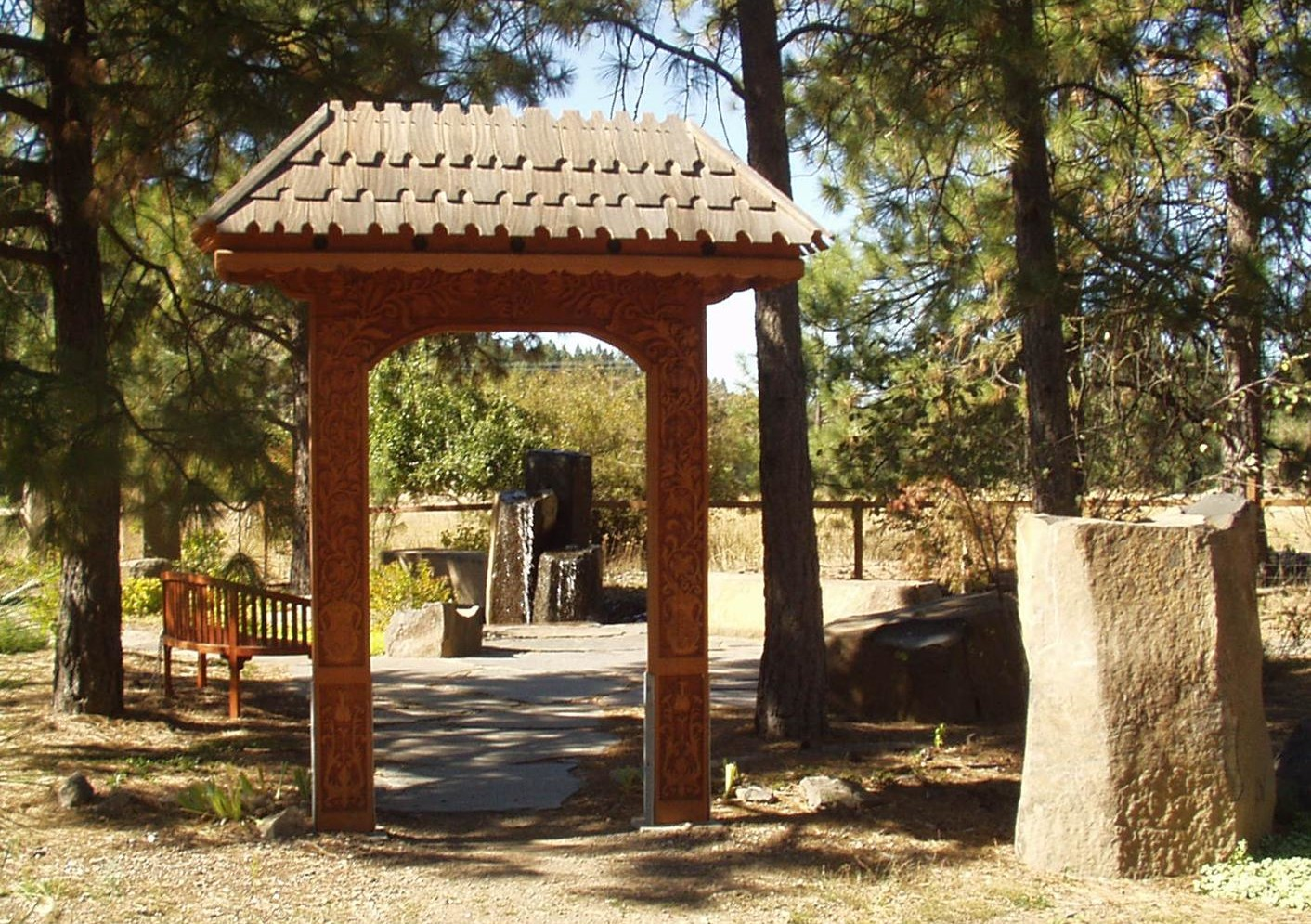 Memorial Garden Gate